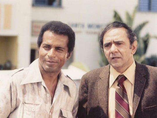 Lloyd Haynes (left) and Michael Constantine star in