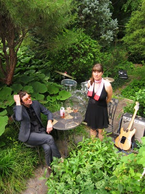 """Brian """"Willie B"""" Wilson and Anna Coogan will perform at Friday's benefit for Ithaca Underground."""