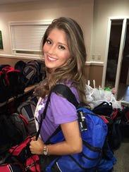 Abigail Dawn Cunnane on April 16 during Miss America