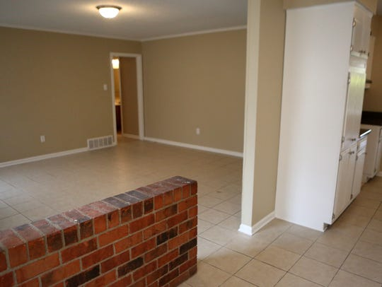 The interior of a recently renovated property by Reedy