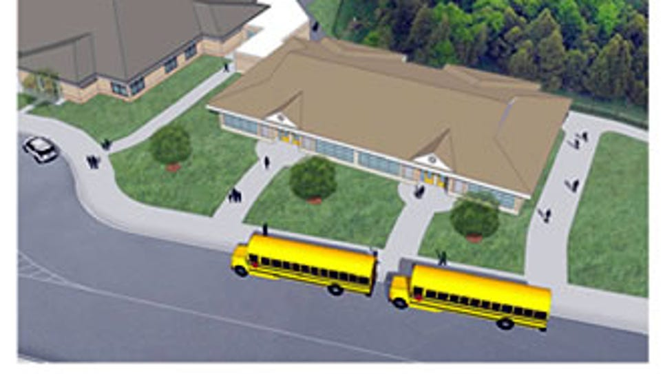 This is a rendering of the new addition at Deerfield