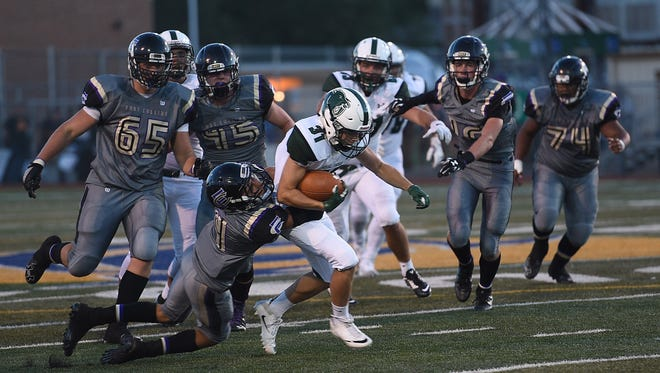 The Fort Collins and Fossil Ridge football teams play at 7 p.m. Friday and fans can stream the game live at Coloradoan.com.