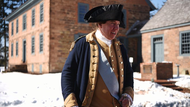 George Washington celebrations his birthday on February 22. A birthday celebration was held for the former president at Dey Mansion in Wayne on Sunday, February 18, 2018.