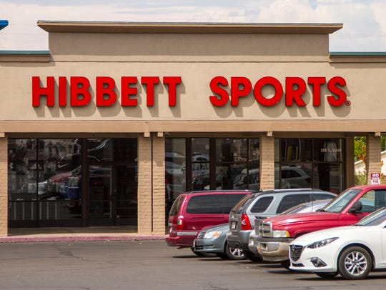 A Hibbett Sports store has opened up at 588 S. Main