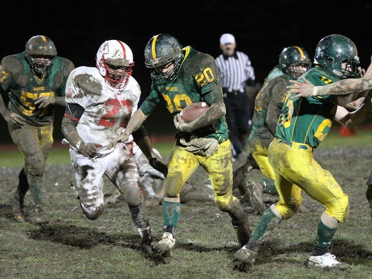 BFA-St. Albans Connor Roberts, center, died of a heart attack in June. He had turned 21 just a week before his death.