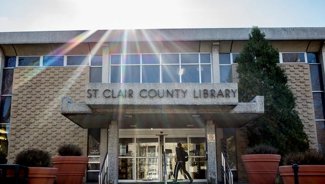 The St. Clair County Library branch in downtown Port Huron.