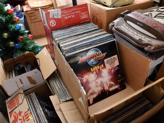 Memorabilia from the past 50 years is stored in the