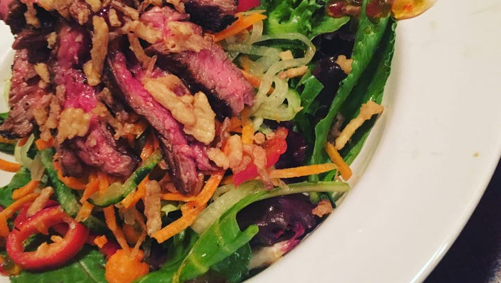 Steak salad is a great option for staying cool and full this summer.