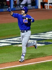 David Ross homered off Andrew Miller in Game 7 of the