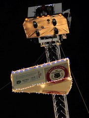 The Big Cheese drop will be at 10 p.m. on Dec. 31.