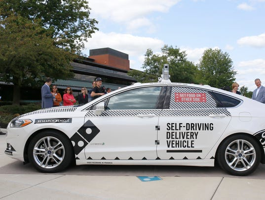 Subaru Ann Arbor >> Domino's, Ford to test driverless pizza delivery in Ann Arbor