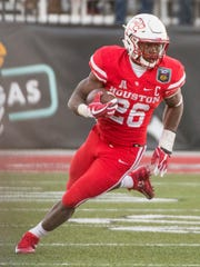 Houston Cougars cornerback Brandon Wilson (26) moves