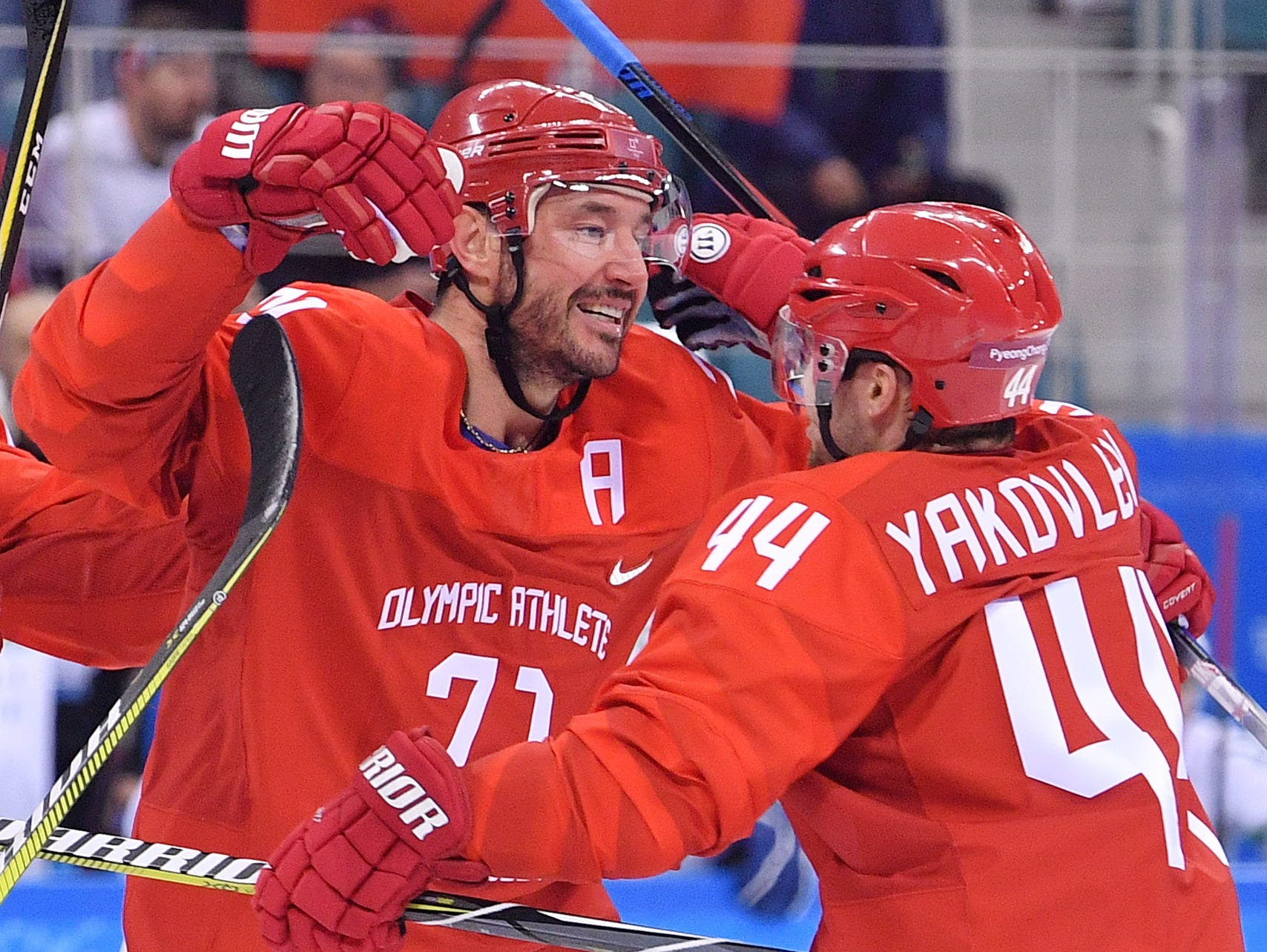 Pyeongchang: Ilya Kovalchuk - Star Powers Russians Over Team USA