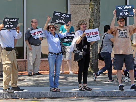 Members of MoveOn, Concerned Families of Westchester,