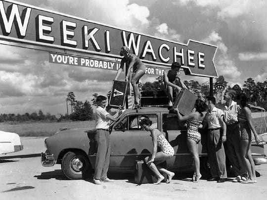 In the late '40s, long before the Magic Kingdom, stunt swimmer and attraction promoter Newt Perry spearheaded the development of one of Florida's oldest and most beloved roadside attractions: Weeki Wachee Springs, the city of mermaids.