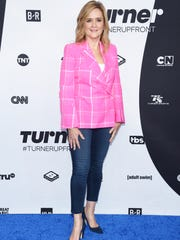 Samantha Bee on the red carpet before the presentation.