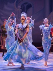 Amber Robins as the title character in Center Dance