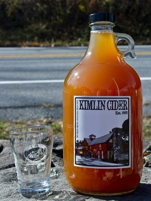 The Kimlin Cider Mill in the Town of Poughkeepsie is the site of a cider-tasting event Saturday.