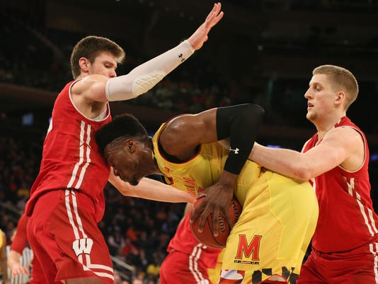 NCAA Basketball: Big Ten Conference Tournament-Maryland vs Wisconsin