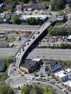 The Ashford Avenue bridge connecting Dobbs Ferry with Ardsley on April 27, 2016.
