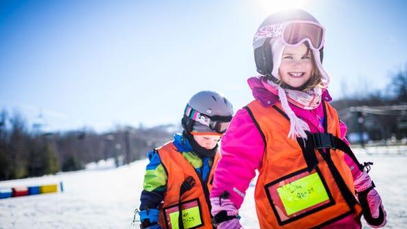 Children skiing at Granite Peak / Photo credit: TravelWisconsin.com