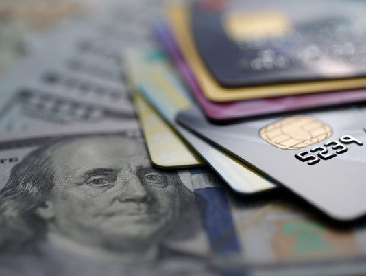 iStock credit cards with cash
