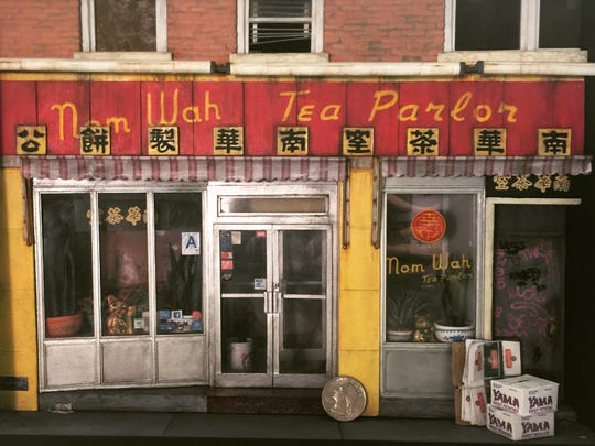 "Danielle McGurran  ""Nom Wah Tea Parlor, Doyers Street"" is part of BadAss Miniatures."