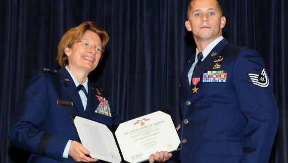 Brig. Gen. Carol Timmons, assistant adjutant general