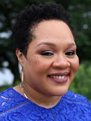 NBC News contributor Yamiche Alcindor