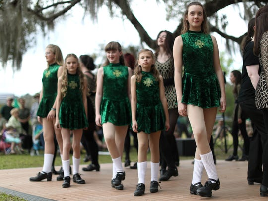 Tallahassee Irish Step Dancers will perform at Lucky's Market at 1 p.m. Saturday.