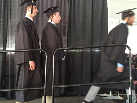 Escape velocity: a Champlain College graduating senior