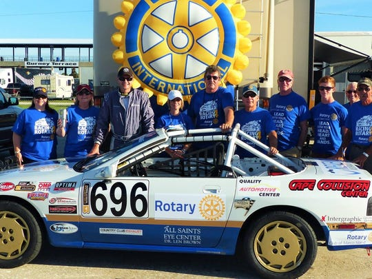 Racing for Rotary is a charity that encompasses endurance racing to raise money for End Polio Now, using $500 Chump Cars.