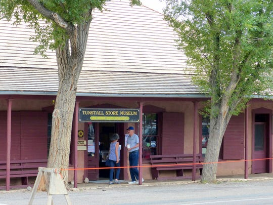 The Tunstall Store is a favorite stop for tourists in the Lincoln Historic District.