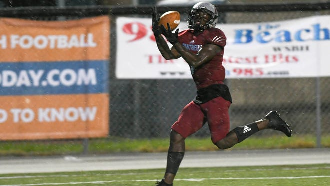 Romell Guerrier leads Florida Tech into its second-ever playoff game on Saturday.