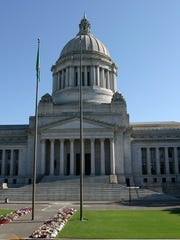 Washington State Capitol building in Olympia