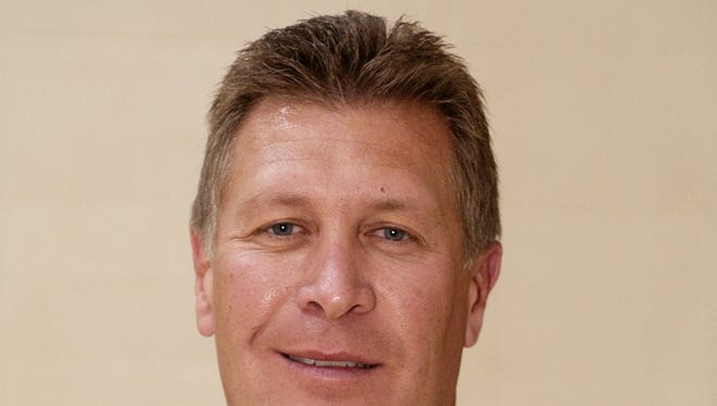 Barr-Reeve coach Bryan Hughes