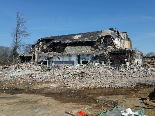Green Village School demolition