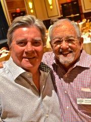 L-R Gary Beach and CVREP Vice-President Sid Craig.
