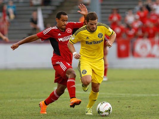 MLS: U.S. Open Cup-Columbus Crew SC at Richmond Kickers