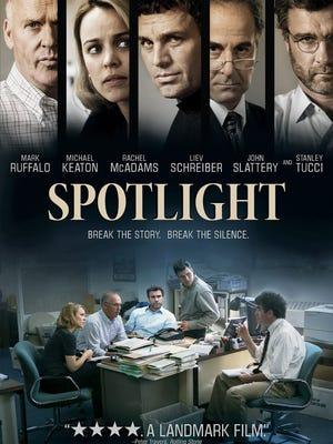 'Spotlight' crackles with tension as it focuses on the tireless efforts of Boston Globe reporters  working to expose the Catholic Church's cover-up of pedophile priests.