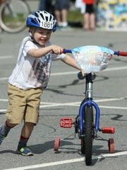 4-year-old Mac Jackson of Denville during the 3rd Annual