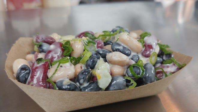 Three Bean Salad at Oskar's