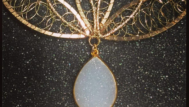 Pendant by Angela Lensch, who is showing her work in this year's Door County Wearable Art Show on Sept. 30 and Oct. 1.