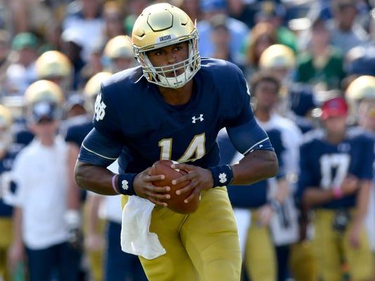 NCAA Football: Duke at Notre Dame