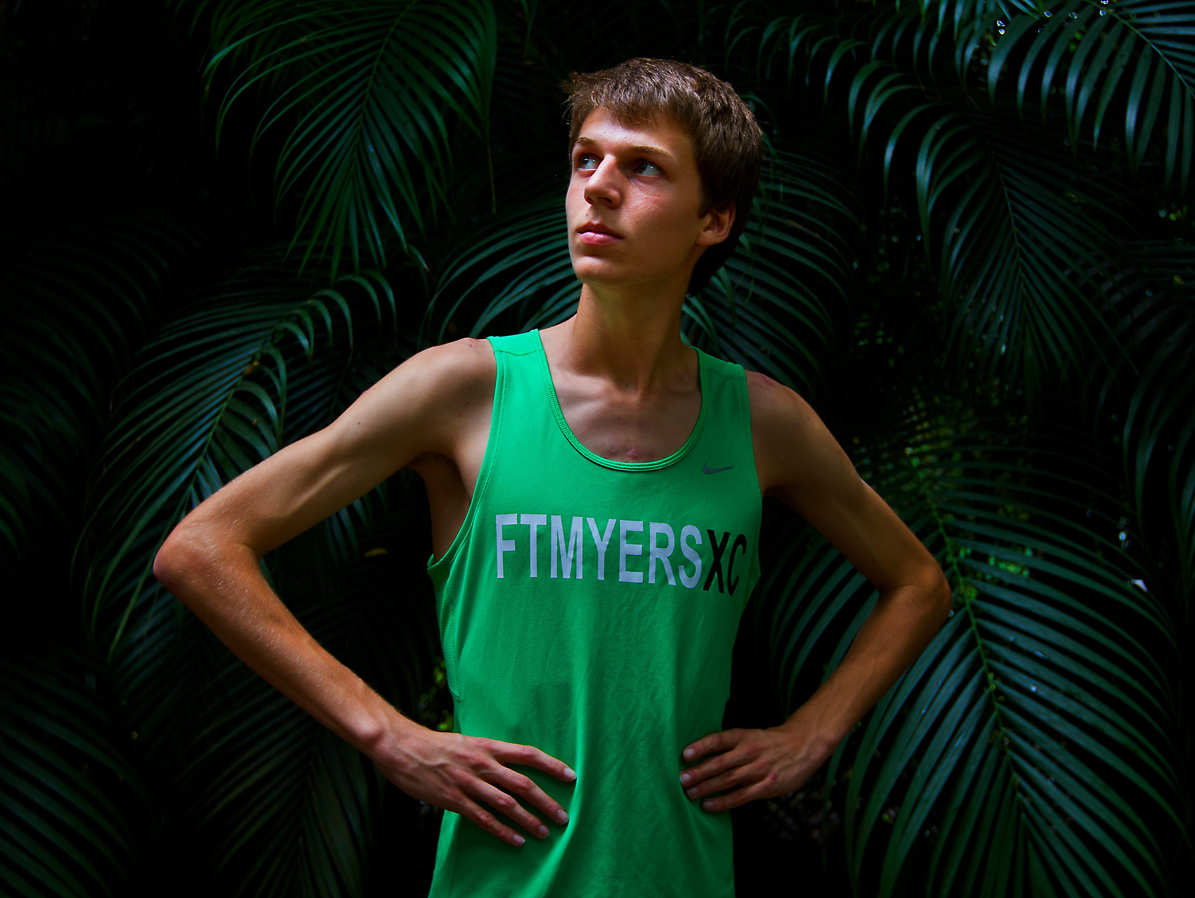 Fort Myers High School junior Josh Kennedy, a cross country athlete, has been a runner since the 4th grade.