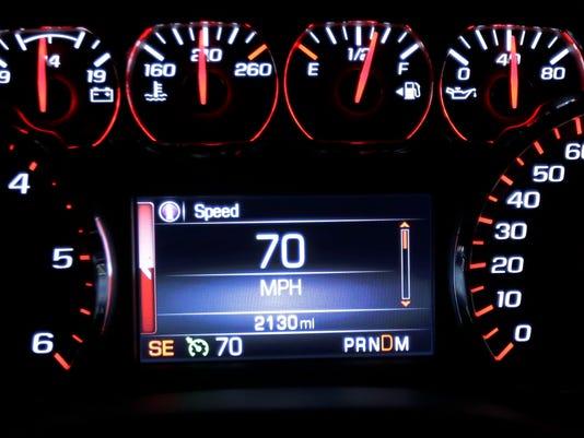 70 mph speed limit