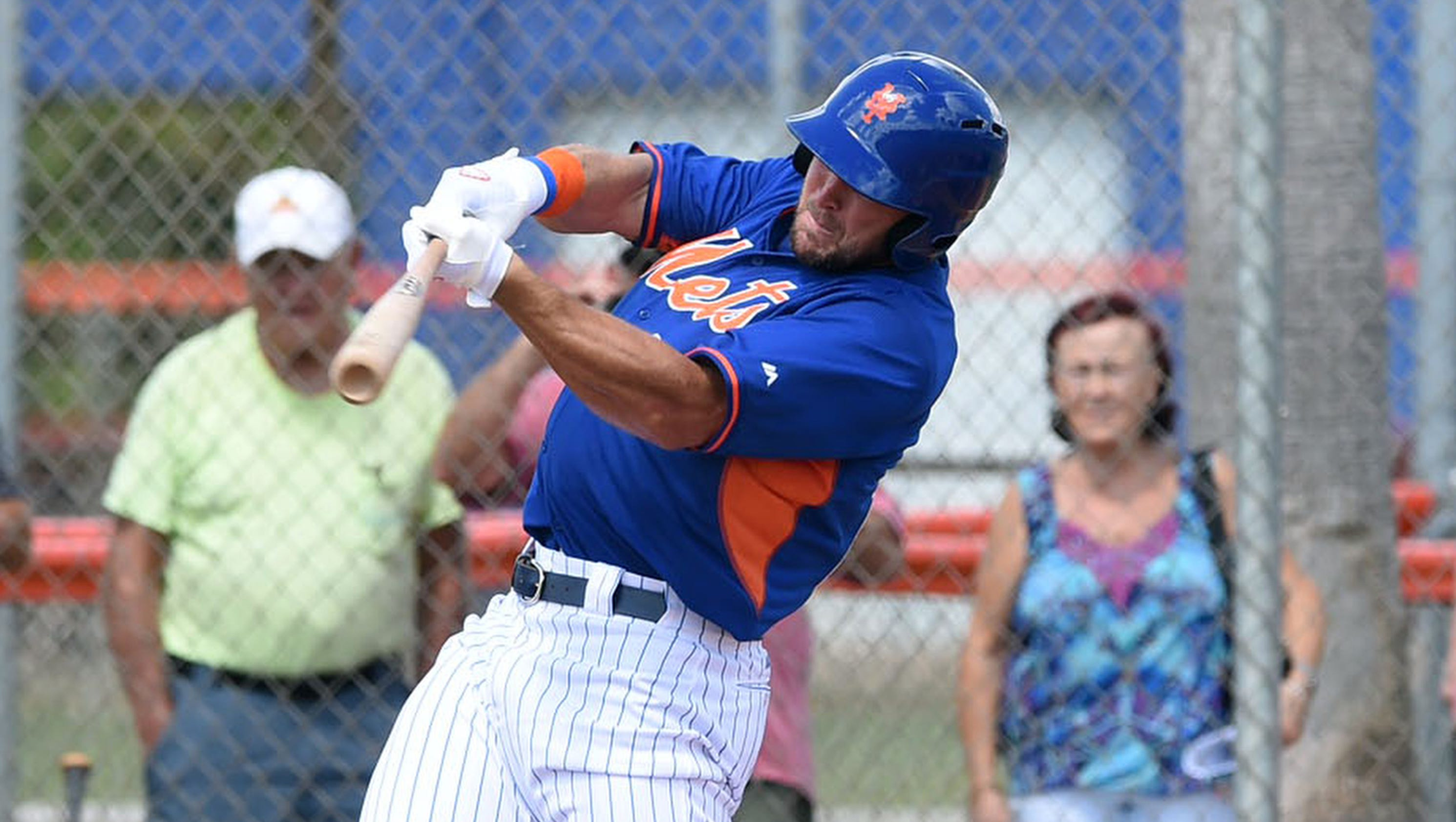 Tim Tebow Home Run Today Video