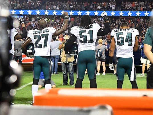 USP NFL: PHILADELPHIA EAGLES AT CHICAGO BEARS S FBN USA IL