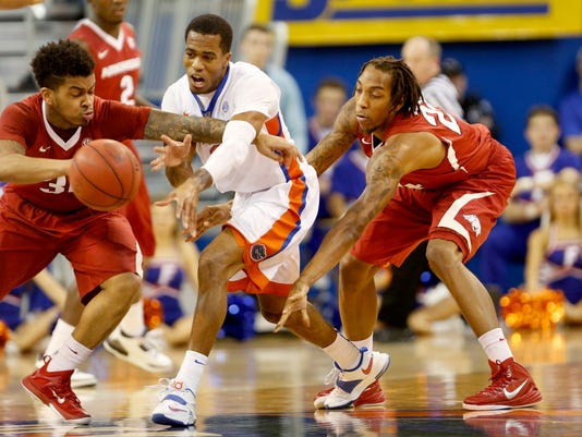 Florida Arkansas Basketball