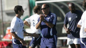 Lenny Armuth is the head men's soccer coach at Drew University. (Courtesy of Drew University)